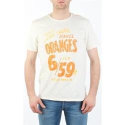 Υφασμάτινα Άνδρας T-shirt με κοντά μανίκια Lee MARCANTILE L668ABBC white