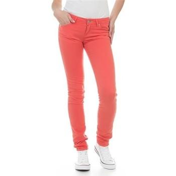 Υφασμάτινα Γυναίκα Skinny jeans Wrangler Jeans  Molly Melon W251U229M red