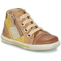 Παπούτσια Παιδί Ψηλά Sneakers Citrouille et Compagnie MIXINE Brown