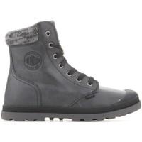 Παπούτσια Γυναίκα Μπότες Palladium Pampa Hi Knit  LP 95172-036-M grey