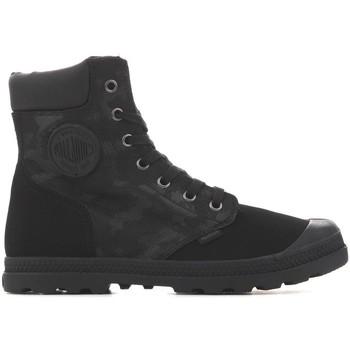 Παπούτσια Γυναίκα Μπότες Palladium Pampa HI Knit LP Camo 95551-008 black