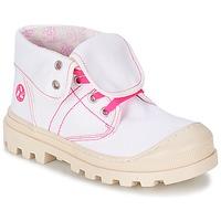 Παπούτσια Κορίτσι Μπότες Citrouille et Compagnie BASTINI άσπρο