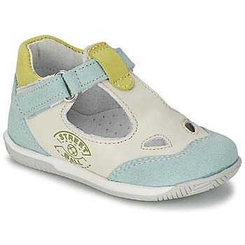 Παπούτσια Αγόρι Σανδάλια / Πέδιλα Citrouille et Compagnie XOULOU άσπρο / μπλέ / Green