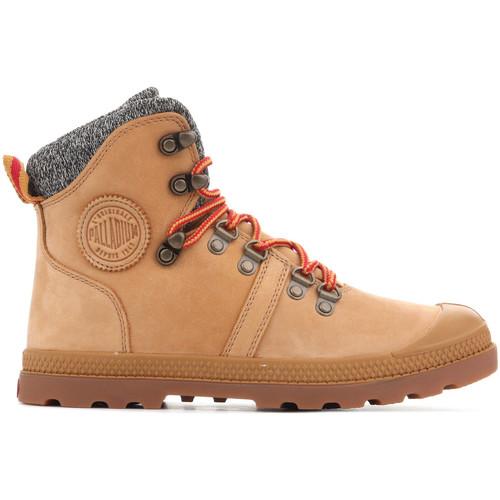 Παπούτσια Γυναίκα Μπότες Palladium Pallabrouse Hikr 95140-278 brown