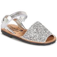 Παπούτσια Κορίτσι Σανδάλια / Πέδιλα Citrouille et Compagnie SQUOUBEL Silver