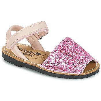 Παπούτσια Κορίτσι Σανδάλια / Πέδιλα Citrouille et Compagnie SQUOUBEL FUCHSIA