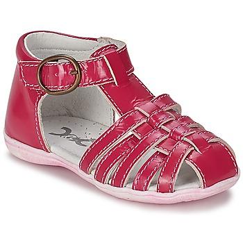 Παπούτσια Κορίτσι Σανδάλια / Πέδιλα Citrouille et Compagnie TRAMELLE FUCHSIA
