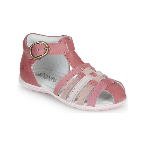 Παπούτσια Κορίτσι Σανδάλια / Πέδιλα Citrouille et Compagnie VISOTU Ροζ / Multicolour
