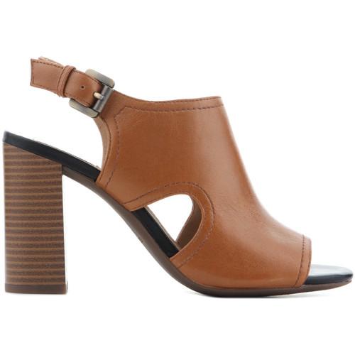 Παπούτσια Γυναίκα Σανδάλια / Πέδιλα Geox D Audalies H.S.B. Caramel D824WB 00044 C5102 brown
