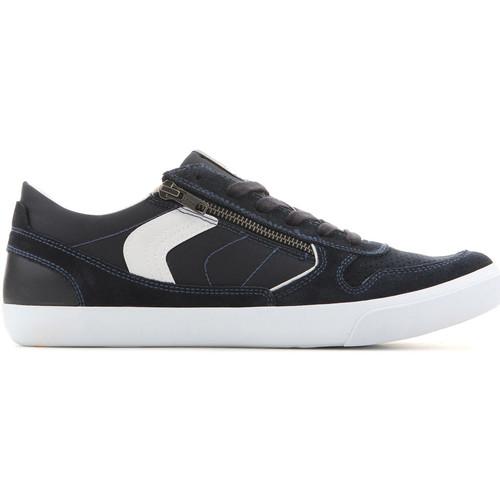 Παπούτσια Άνδρας Χαμηλά Sneakers Geox U Box C - Suede+Nylon U82R3C 022FU C4002 navy