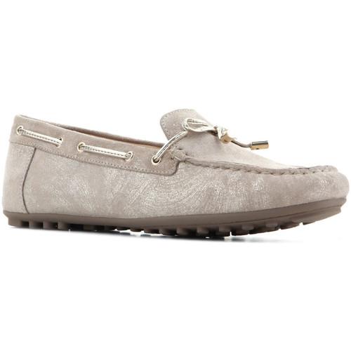 Παπούτσια Γυναίκα Χαμηλά Sneakers Geox D Leelyan A - SHI.Suede D724RA 00077 C2005 brown