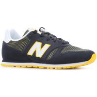Παπούτσια Γυναίκα Χαμηλά Sneakers New Balance KD373NRY black, white, yellow