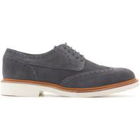 Παπούτσια Άνδρας Derby Geox Damocle Print Suede U820SB 0BS22 C9002 grey