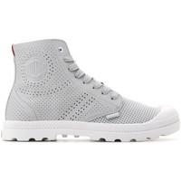 Παπούτσια Γυναίκα Ψηλά Sneakers Palladium Mid LP Perf 95756-073-M grey