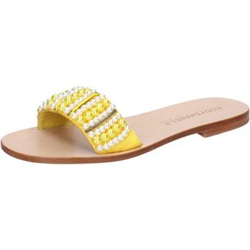 Παπούτσια Γυναίκα Σανδάλια / Πέδιλα Eddy Daniele AW452 Κίτρινος