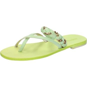 Παπούτσια Γυναίκα Σανδάλια / Πέδιλα Eddy Daniele AW169 πράσινος