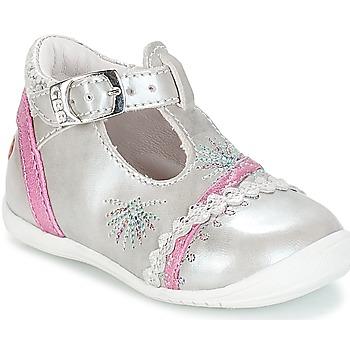 Παπούτσια Κορίτσι Μπαλαρίνες GBB MARINA Vte / ΑΣΗΜΙ-ΦΟΥΞΙΑ / Dpf / Kezia
