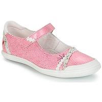 Παπούτσια Κορίτσι Μπαλαρίνες GBB MARION Vte / ΡΟΖ-ΛΕΥΚΟ / Dpf / Zara