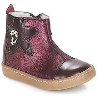 Παπούτσια Κορίτσι Μπότες GBB LIAT Vte / Μπορντό  / Dpf / 2706