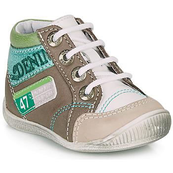 Παπούτσια Αγόρι Μπότες GBB PANCRACE Άσπρο / Green / Taupe