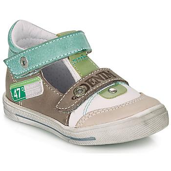 Παπούτσια Αγόρι Σανδάλια / Πέδιλα GBB PEPINO Άσπρο / Green / Taupe