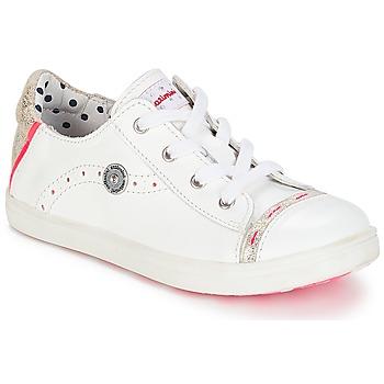 Xαμηλά Sneakers Catimini PANDA ΣΤΕΛΕΧΟΣ: Δέρμα και συνθετικό & ΕΠΕΝΔΥΣΗ: Δέρμα & ΕΣ. ΣΟΛΑ: Δέρμα & ΕΞ. ΣΟΛΑ: Καουτσούκ