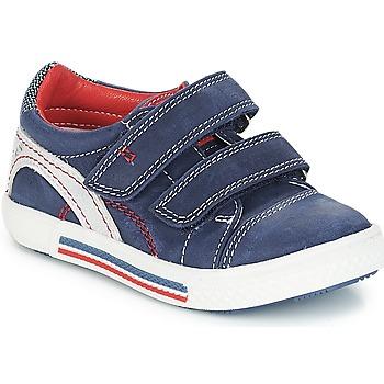 Παπούτσια Αγόρι Χαμηλά Sneakers Catimini PERRUCHE Nus / Marine - κόκκινο / Dpf / Strike