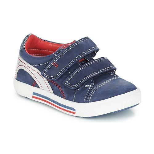 fcee142f29a2 Παπούτσια Αγόρι Χαμηλά Sneakers Catimini PERRUCHE Nus   Marine - κόκκινο    Dpf   Strike