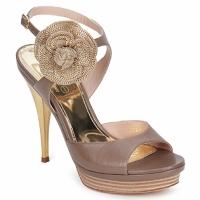 Παπούτσια Γυναίκα Σανδάλια / Πέδιλα Fericelli MINKA Capretto / Tortora