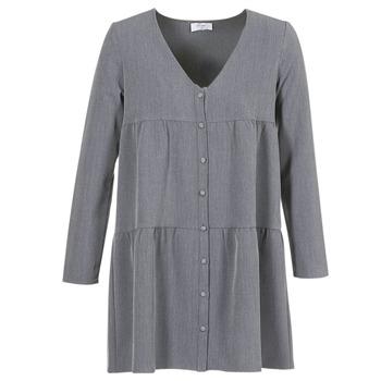 Υφασμάτινα Γυναίκα Κοντά Φορέματα Betty London JOGURET Grey