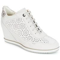 Παπούτσια Γυναίκα Ψηλά Sneakers Geox D ILLUSION Άσπρο