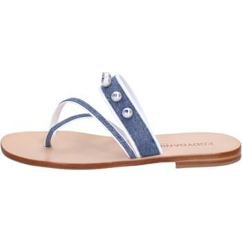 Παπούτσια Γυναίκα Σανδάλια / Πέδιλα Eddy Daniele AW229 Μπλε