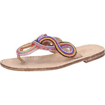 Παπούτσια Γυναίκα Σανδάλια / Πέδιλα Eddy Daniele AX895 Πολύχρωμος