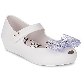 Παπούτσια Γυναίκα Μπαλαρίνες Melissa MINI ULTRAGIRL MINNIE MOUSE άσπρο
