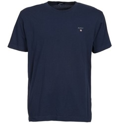 Υφασμάτινα Άνδρας T-shirt με κοντά μανίκια Gant SOLID Marine