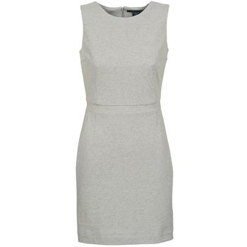 Υφασμάτινα Γυναίκα Κοντά Φορέματα Gant L. JERSEY PIQUE Grey