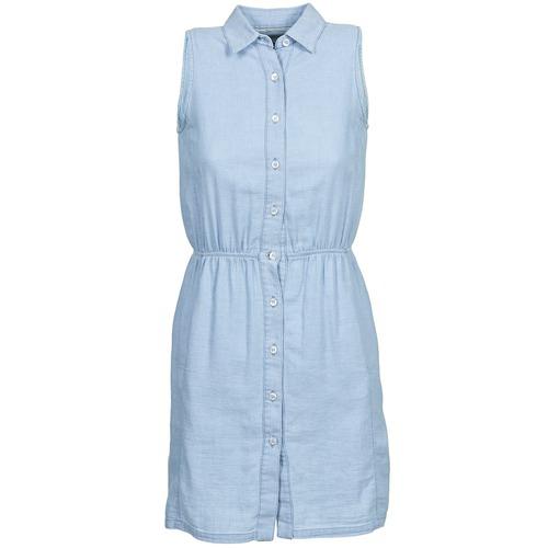 Υφασμάτινα Γυναίκα Κοντά Φορέματα Gant O. INDIGO JACQUARD Μπλέ