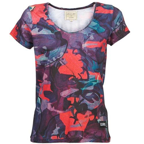 Υφασμάτινα Γυναίκα T-shirt με κοντά μανίκια Eleven Paris HAREL Multicolour