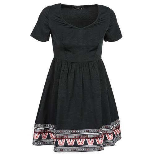 Υφασμάτινα Γυναίκα Κοντά Φορέματα Eleven Paris NANA Black