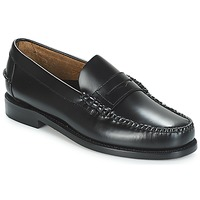Παπούτσια Άνδρας Μοκασσίνια Sebago CLASSIC PENNY BRUSHED Black