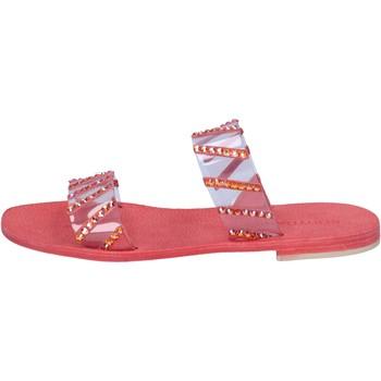 Παπούτσια Γυναίκα Σανδάλια / Πέδιλα Eddy Daniele AW463 το κόκκινο