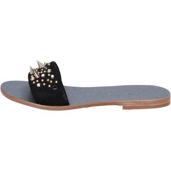 Παπούτσια Γυναίκα Σανδάλια / Πέδιλα Eddy Daniele AX775 Μαύρος