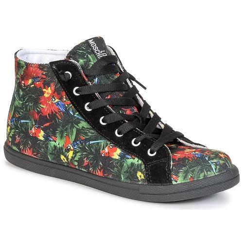 Παπούτσια Γυναίκα Ψηλά Sneakers Love Moschino JA15132G0KJE0000 Black / Multicolore