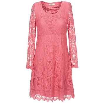 Υφασμάτινα Γυναίκα Κοντά Φορέματα Cream ANNEMON LACE Ροζ