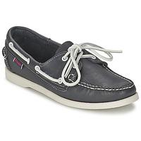 Παπούτσια Γυναίκα Boat shoes Sebago DOCKSIDES μπλέ