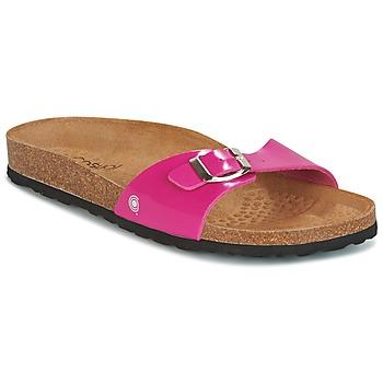 Παπούτσια Γυναίκα Τσόκαρα Casual Attitude CHASTO FUCHSIA / Charbon