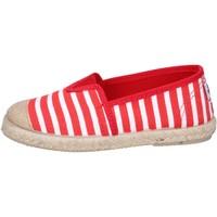 Παπούτσια Αγόρι Εσπαντρίγια Cienta espadrillas rosso tessuto bianco profumate BX287 Rosso