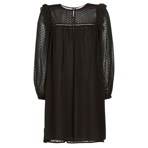 Υφασμάτινα Γυναίκα Κοντά Φορέματα Moony Mood PREYAT Black