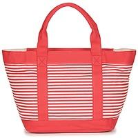Τσάντες Γυναίκα Cabas / Sac shopping André JENNY Red / Άσπρο