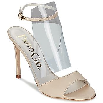 Παπούτσια Γυναίκα Σανδάλια / Πέδιλα Paco Gil LUISE ECRU